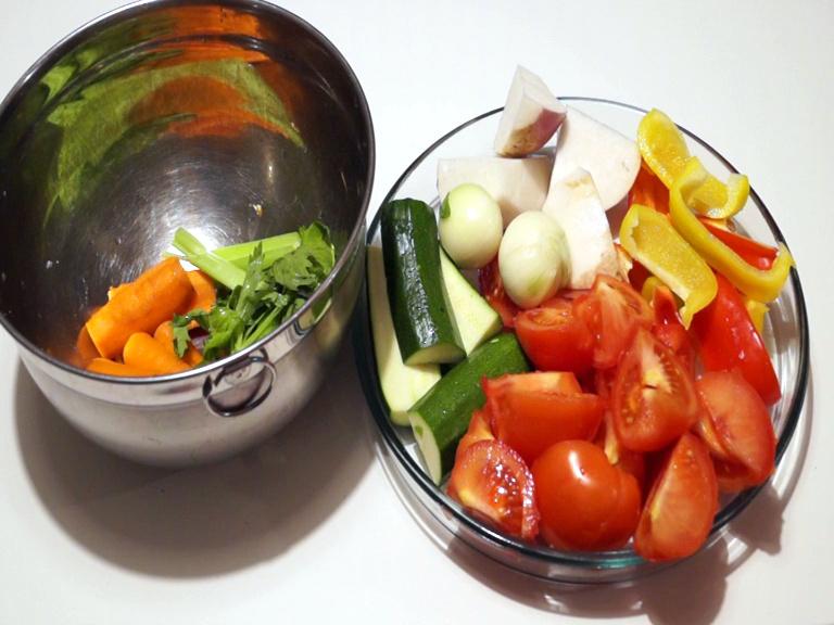 Découpe de Légumes