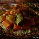 Plat de Couscous aux Légumes