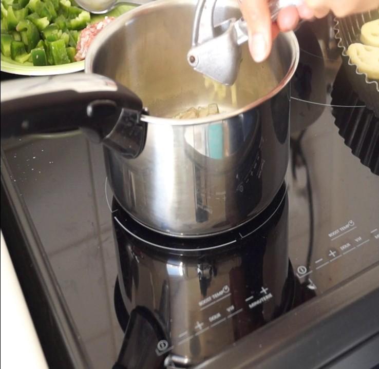 cuisson échalote ail