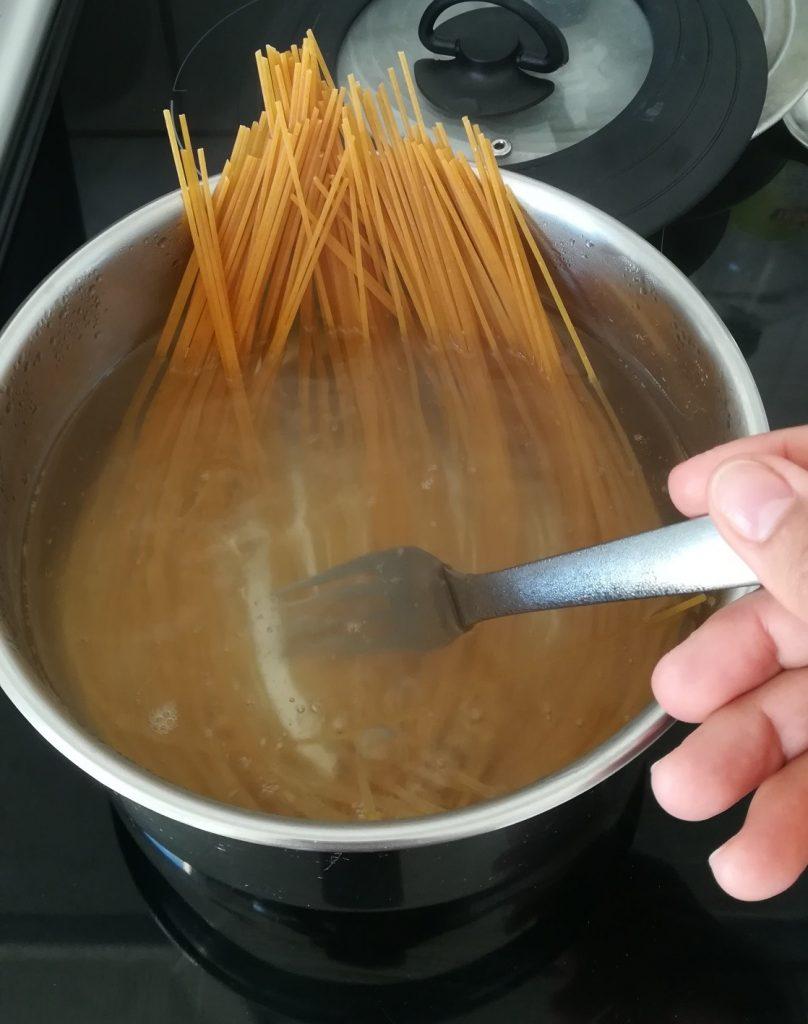 Remuer ses pâtes