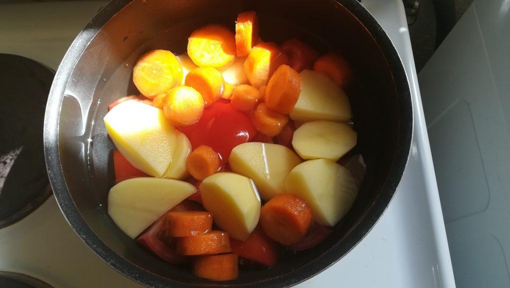 Recette de soupe de légumes simple