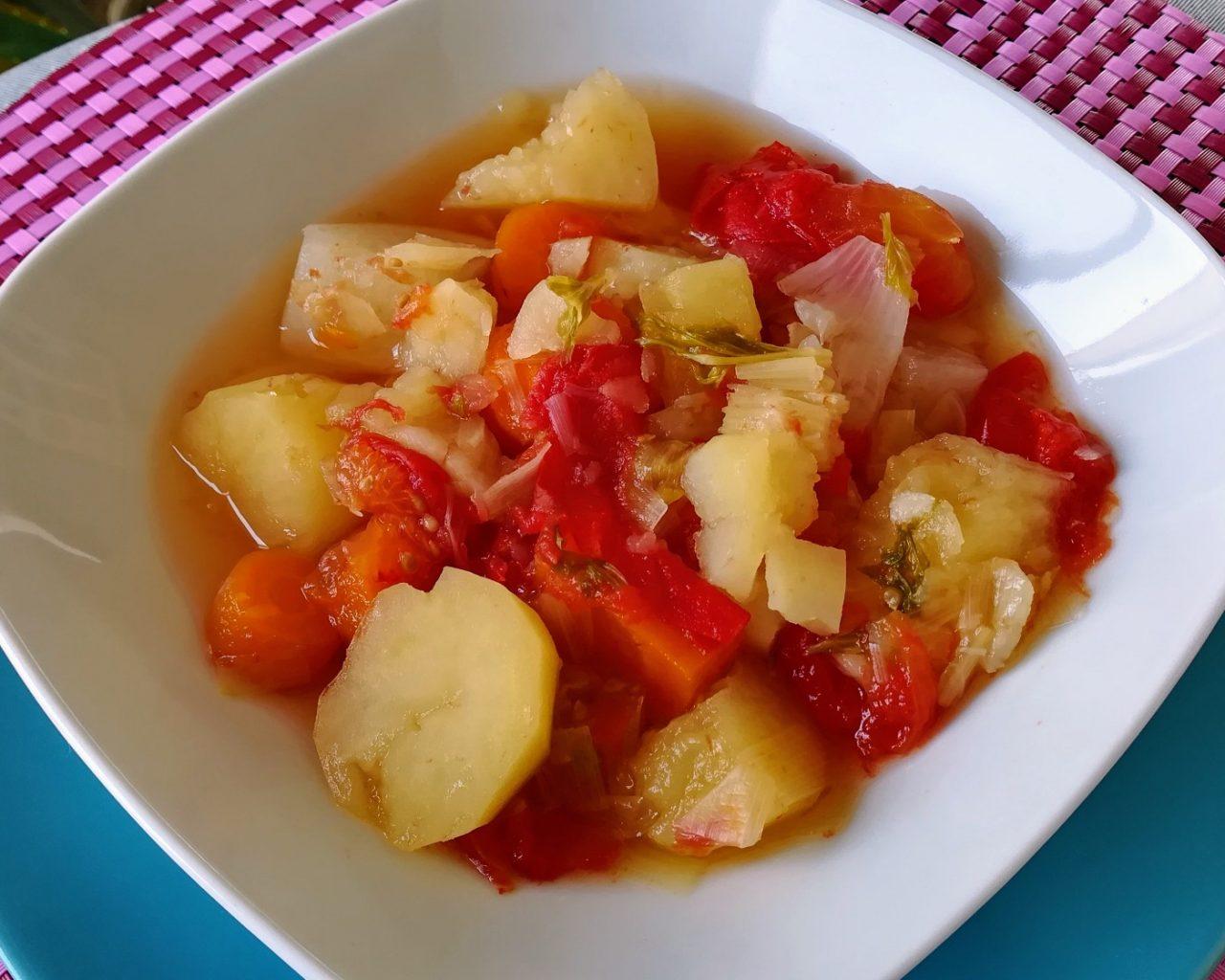 Recette de soupe de légumes
