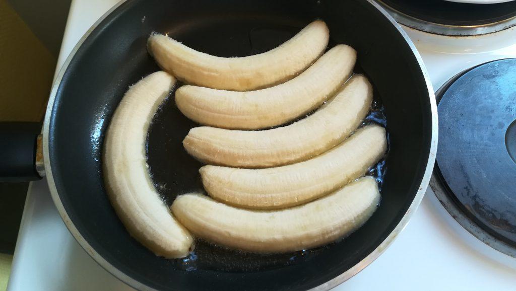 Dessert de bananes