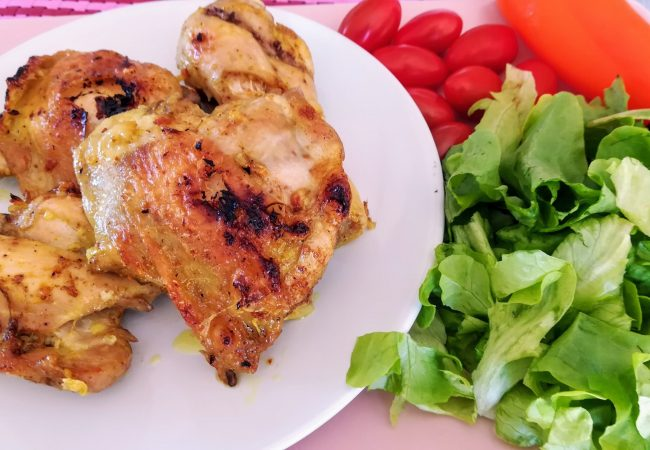 Marinade simple pour poulet au barbecue