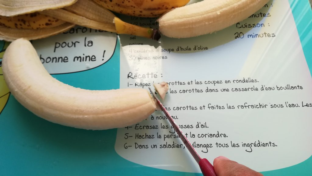 Recette de bananes