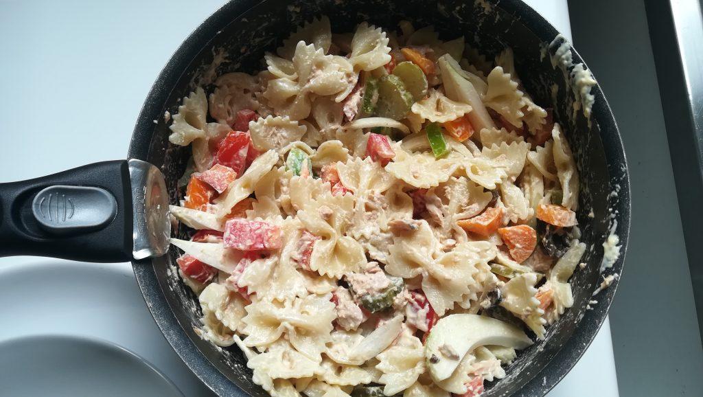 Salade de pâtes froide