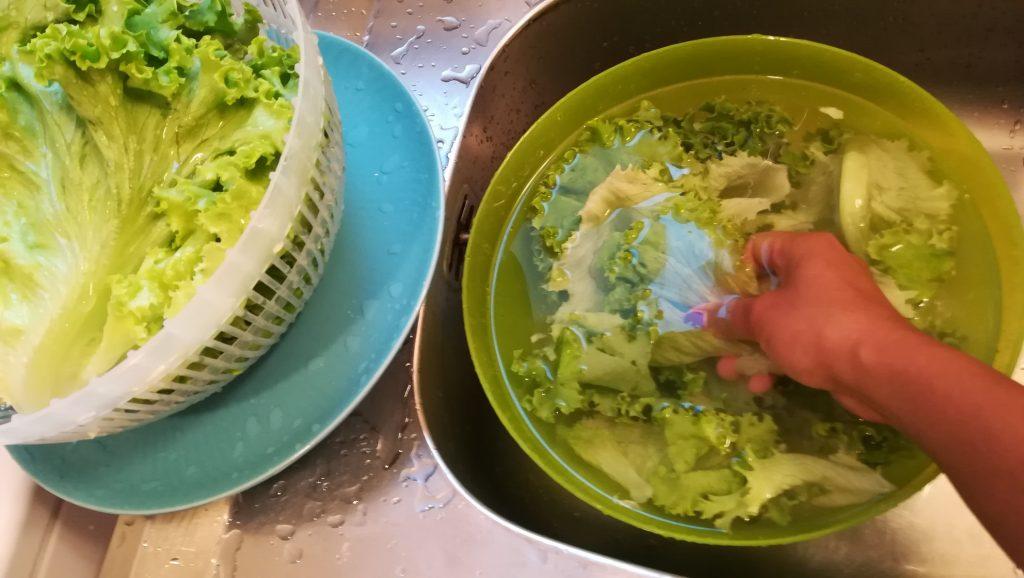 Recette salade verte