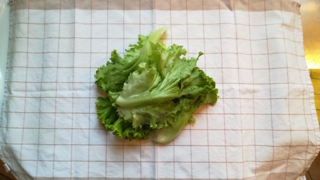 Sécher une salade