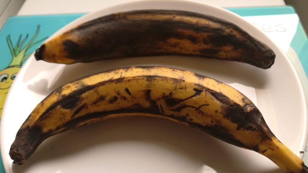 Bananes plantains mûres