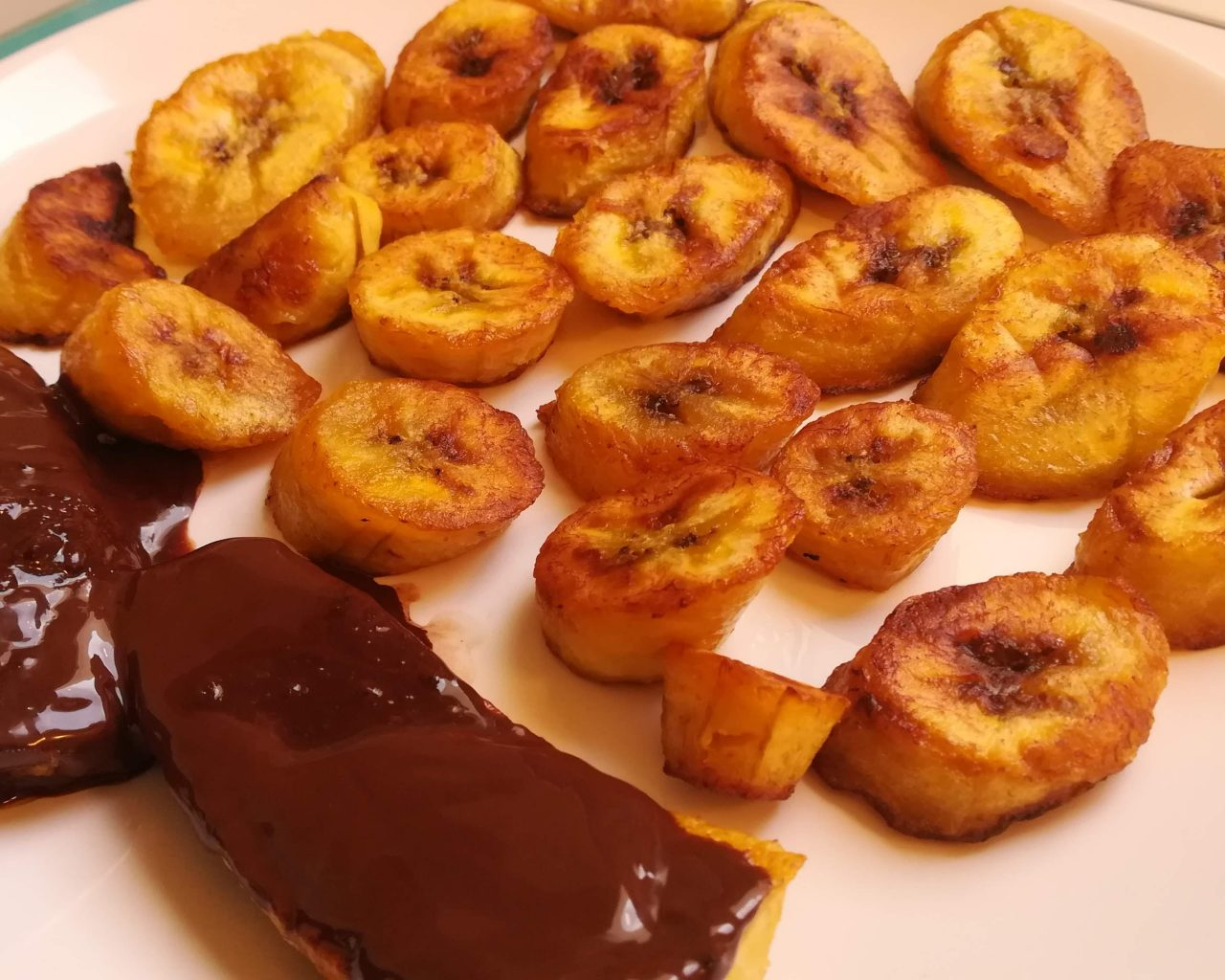 Plantains mûrs frits