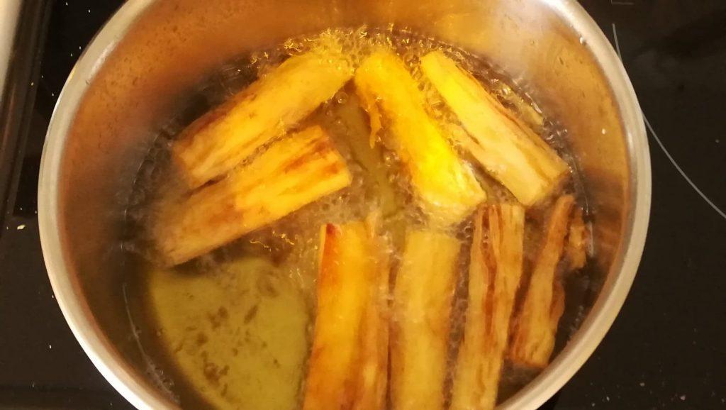 Manioc en friture