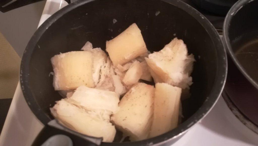 Manioc cuit