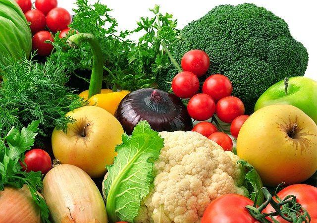 Légumes et fruits pour une alimentation saine