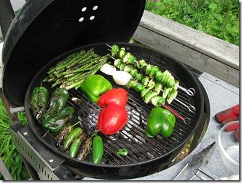 Barbecue de légumes