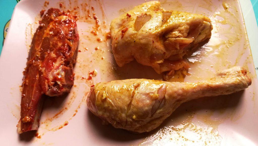 Agneau, poulet pour couscous
