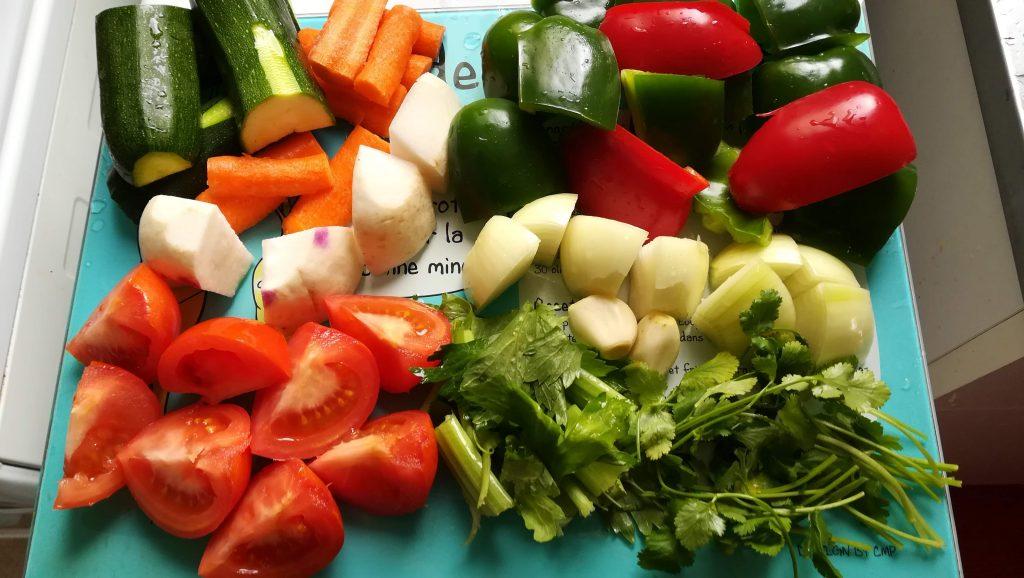 Légumes pour couscous maison