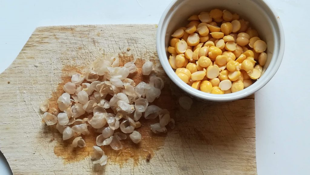 Pois chiche pour couscous simple
