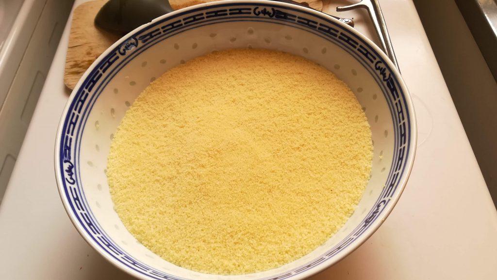 Préparation pour couscous facile