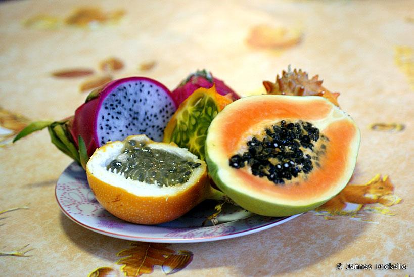 Les fruits exotiques sont des produits hors saison