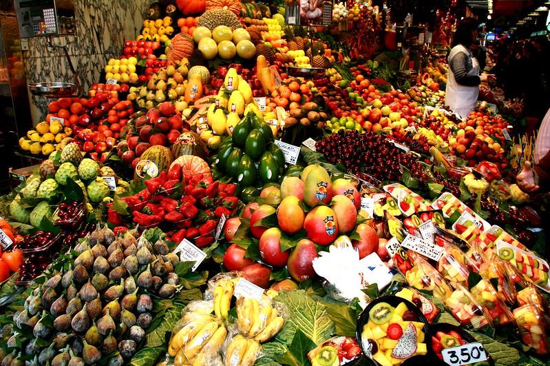 Les fruits et légumes exotiques sont des produits importés