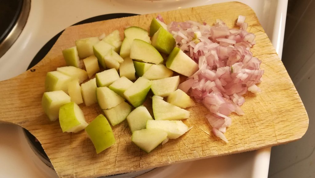 Endives aux pommes