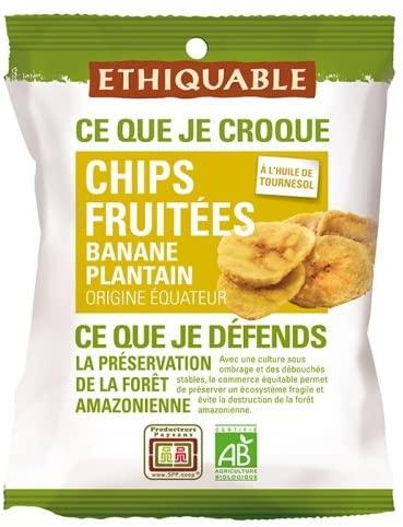 Chips à la banane