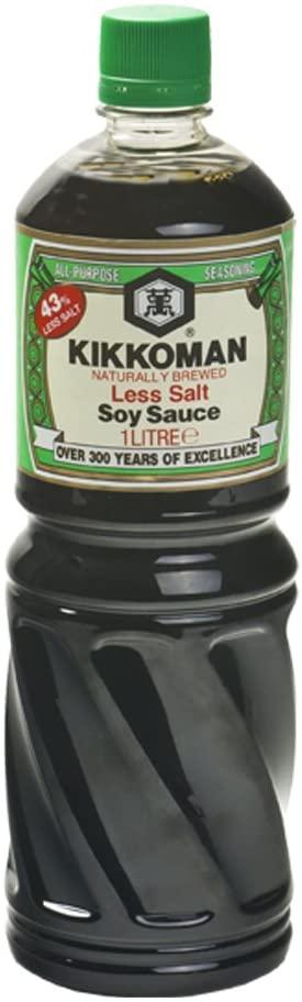 Sauce soja allégée
