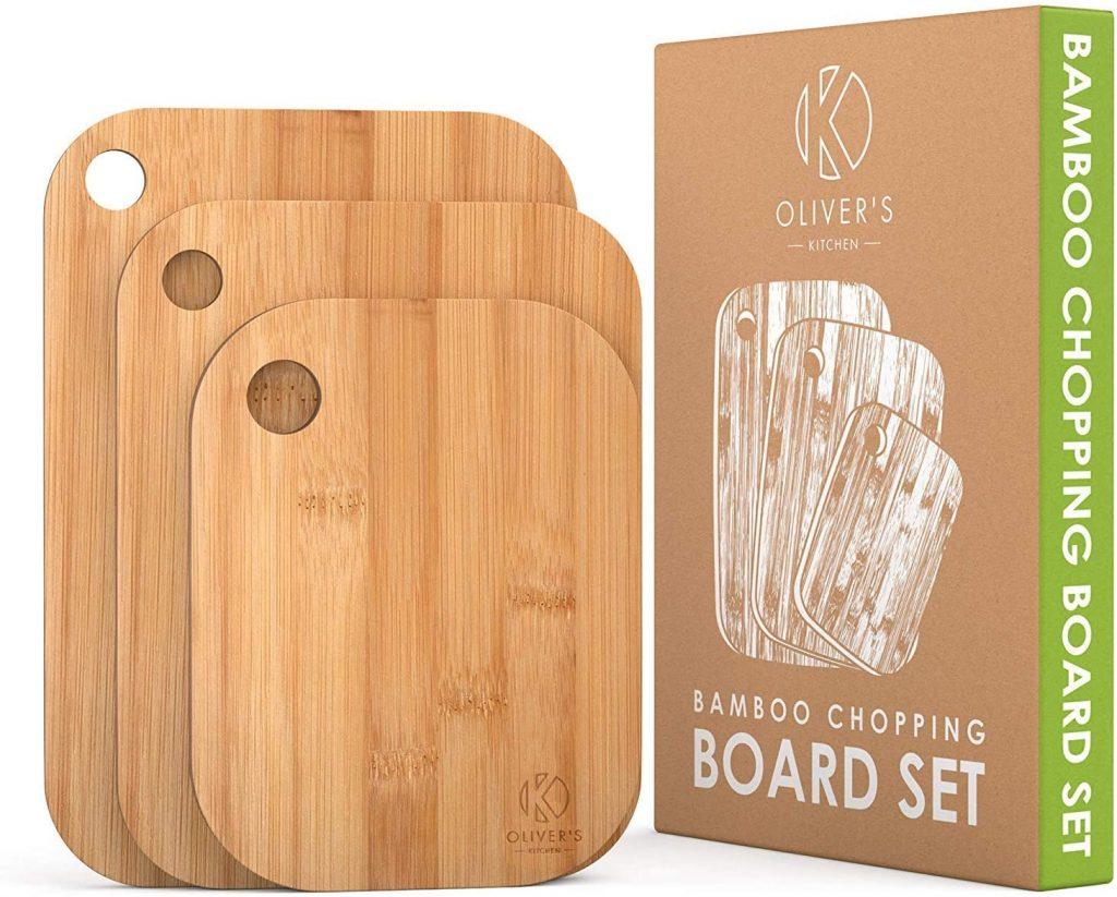 Set de planche à découper en bois