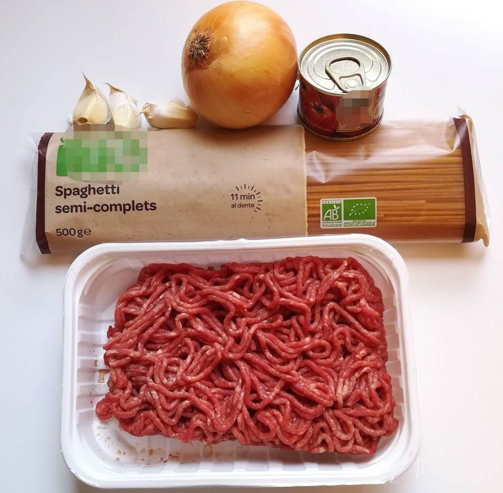 spaghetti bolognaise facile et rapide